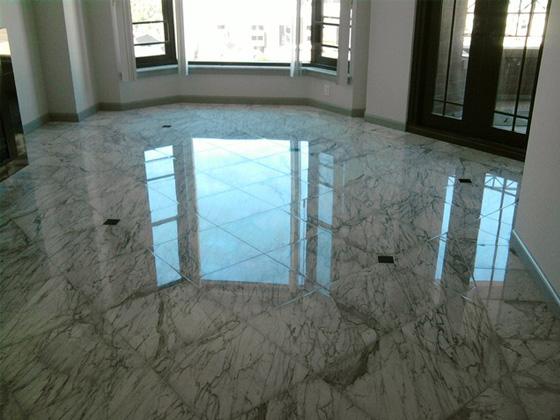 Marble Floor Polishing